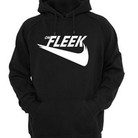 on fleek hoodie