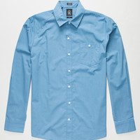 Volcom Everett Mens Shirt Blue  In Sizes