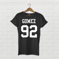 Selena Gomez Date of Birth - Varsity Style T-Shirt - All Colours Available