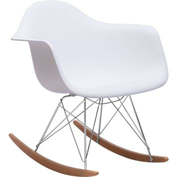 Rocket Occasional Chair White