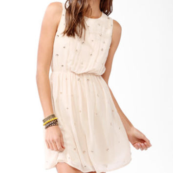 Bejeweled Blouson Dress | FOREVER 21 - 2031557131