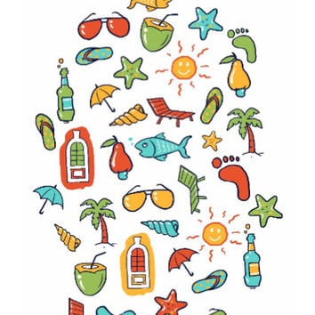 Beach Time Wall Art | Artist: Aniruddha Lele