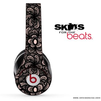 Black Lacy Skin for the Beats by Dre