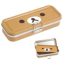 San-x Rilakkuma 3 Tier Tin Pencil Case