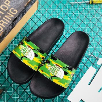 Atmos x The North Face TNF Base Camp Slide II Camo Green - Best Online Sale