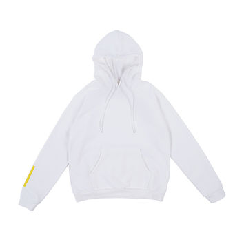LLANO Sky Oversized Hooded Sweatshirt