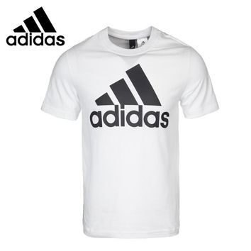 Original New Arrival 2018 Adidas Men's  Training T-shirts   short sleeve Sportswear