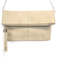 Melodie Crossbody Handbag In Taupe