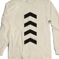 Arrows-Unisex Natural T-Shirt