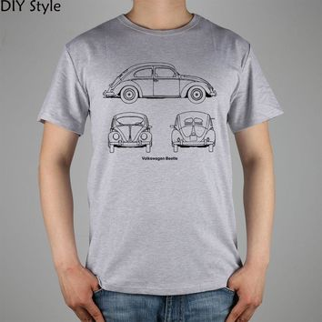 Volkswagen beetle, Year 1952 T-Shirt