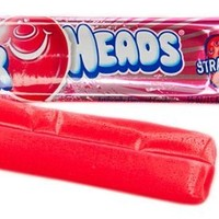 Airheads Taffy Candy, Strawberry, 0.55 Oz /15.6 G (Pack of 72)