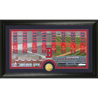 Boston Red Sox ?Tradition? Minted Coin Pano Photo Mint