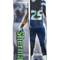 Men's FBF Originals 'Seattle Seahawks - Richard Sherman' Socks - Black