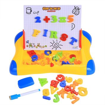 Kids Educational Toys Children Magnetic Drawing Board Painting Letter Figure Puzzle Learning Toys Child Education Toy Baby Gifts