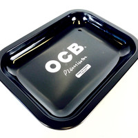 OCB Black Rolling Tray (Mini)