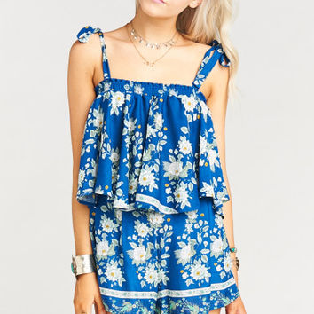 Nini Tie Top ~ Brunch of Blooms Cruise