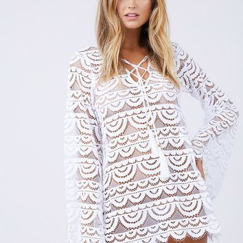 Noah Tunic Cover Up - White