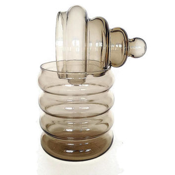 Danish Modern Glass Jar, Holmegaard, Jacob Bang, Primula