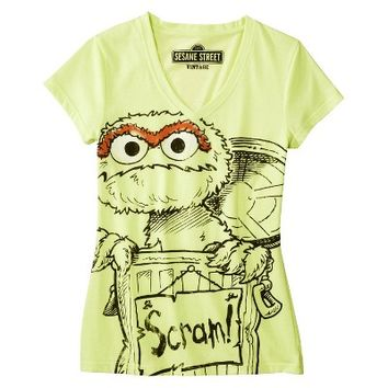 Sesame Street® Women's Sleep Top - Oscar the Grouch