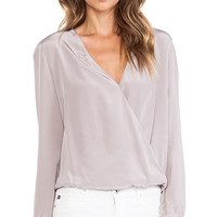 Rory Beca Rival Blouse in Gray