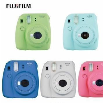 Fujifilm Instax Mini 9 Instant Printing Digital Camera With 20 Sheets Fuji Film Photo Paper for Mini 8 7s 25 50s 90