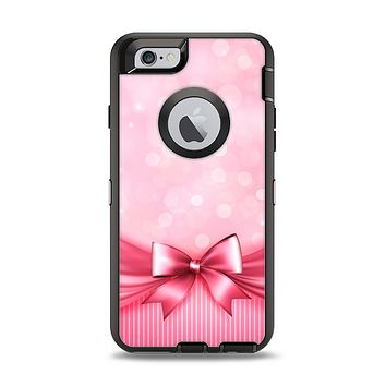 The Magical Pink Bow Apple iPhone 6 Otterbox Defender Case Skin Set