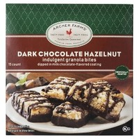 Archer Farms® Dark Chocolate Hazelnut Indulgent Granola Bites -15-ct 9 oz.