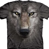 The Mountain Wolf Face Child T-shirt