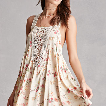 Z&L Europe Floral Mini Dress