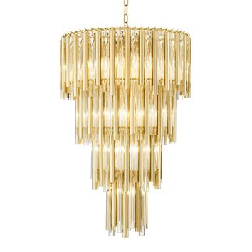 Layered Glass Chandelier | Eichholtz Gigi - L