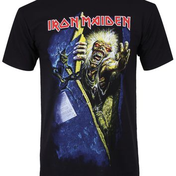 Iron Maiden No Prayer Men's Black T-Shirt