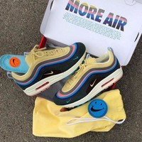 VONE05CS Best Online Sale Sean Wotherspoon x Air Max 1 / 97 VF SW Hybrid Retro Sport Running Shoes AJ4219-400