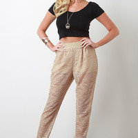 Tribal Lace Pants