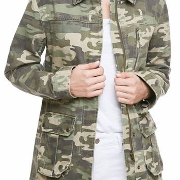 Sanctuary Camo Army Jacket | Nordstrom