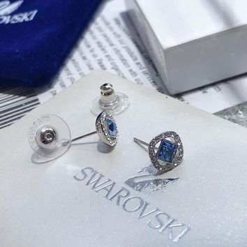 DCCK S049 Swarovski angelic blue earrings