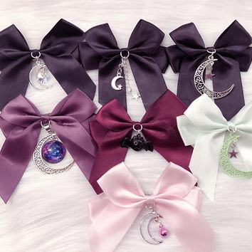 "MADE TO ORDER: Hair Bows 2"" w/ clips (You choose!)"