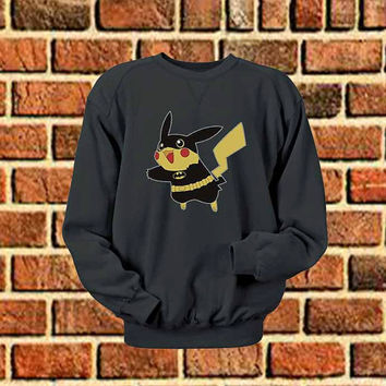 Pikachu batman sweater Sweatshirt Crewneck Men or Women Unisex Size