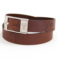 Texas Tech Red Raiders NCAA Brandish Leather Belt Size 36