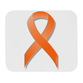 Leukemia Awareness Ribbon - Orange Mousepad