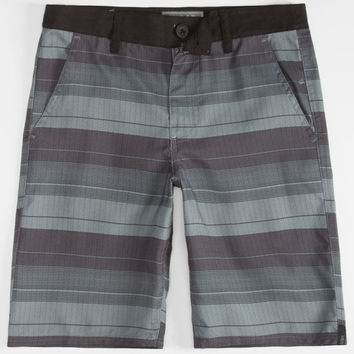 Valor Autonomous Boys Hybrid Shorts - Boardshorts And Walkshorts In One Black  In Sizes