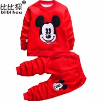 warm kids clothing sets