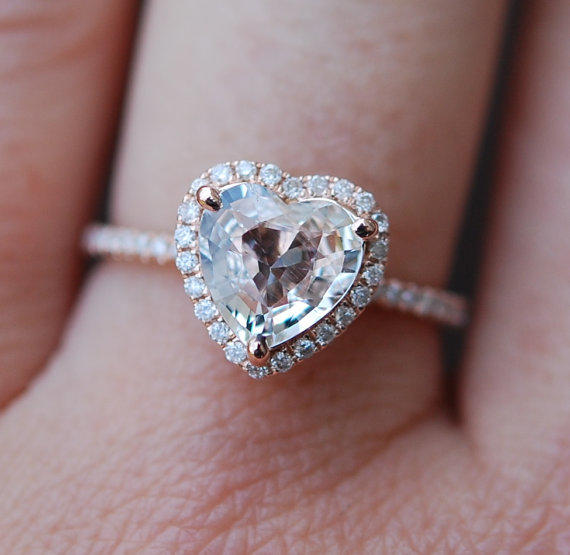 Ct Heart Shaped Diamond Ring