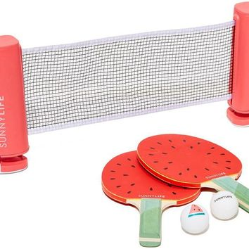 Portable Poolside Watermelon Ping Pong