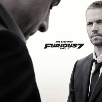 Furious 7 11x17 Movie Poster (2015)
