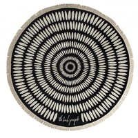 The Beach People - Tulum Round Towel