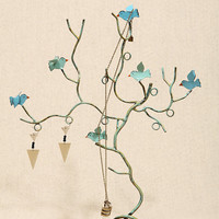Blue Flock Of Birds Jewellery Stand - Urban Outfitters