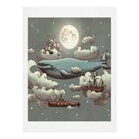 Terry Fan Ocean Meets Sky Art Print