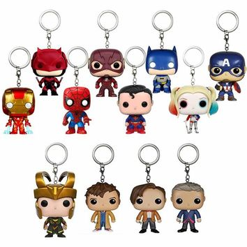 POP Harley Quinn Batman Superman Spiderman Thor Black Panther Doctor Who