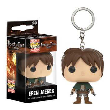 Funko Attack on Titan Eren Jaeger Pocket Pop! Key Chain
