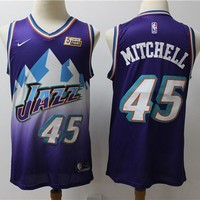 Men's Utah Jazz Donovan Mitchell Classic Swingman Jersey - Best Deal Online